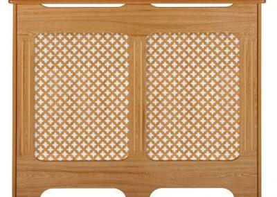 Classic Real Oak Veneer Radiator Cabinet