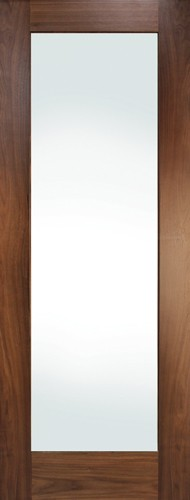 Seadec Cheshire Walnut 1 Panel Shaker Preglazed