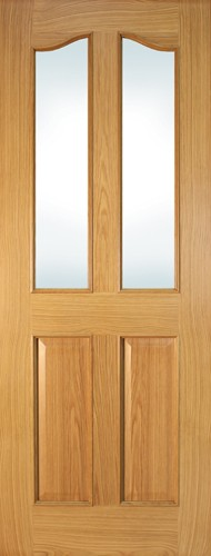 Seadec-Oak-Bolection-2-Panel-Curved-Unglazed