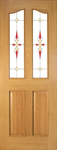 Seadec-Oak-Bolection-2-Panel-Curved-with-Glass-type-4