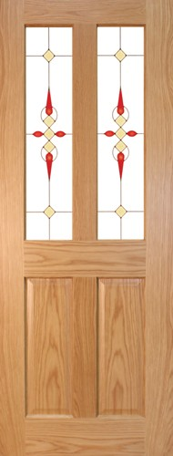 Seadec-Waterford-Oak-2-Panel-with-Glass-type-4