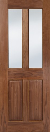 Seadec Waterford Walnut 2 Panel Unglazed