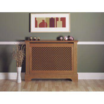 Winther Browne Georgian Oak Radiator Cover Cabinet