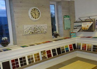 carpets in Doherty Flooring Showroom
