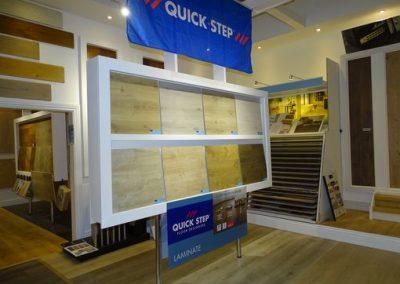 wood flooring on show