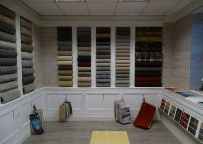 carpets in shop